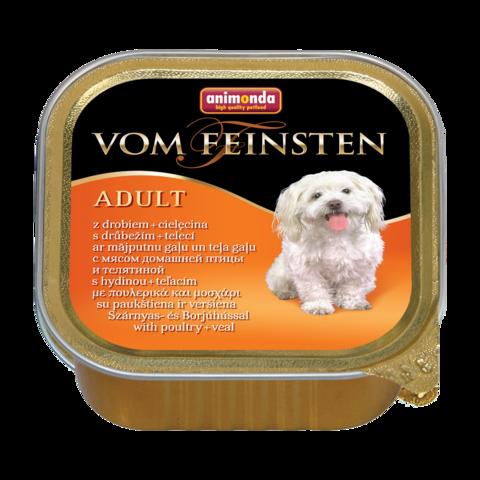 Animonda Vom Feinsten Classic Консервы для собак с домашней птицей и телятиной