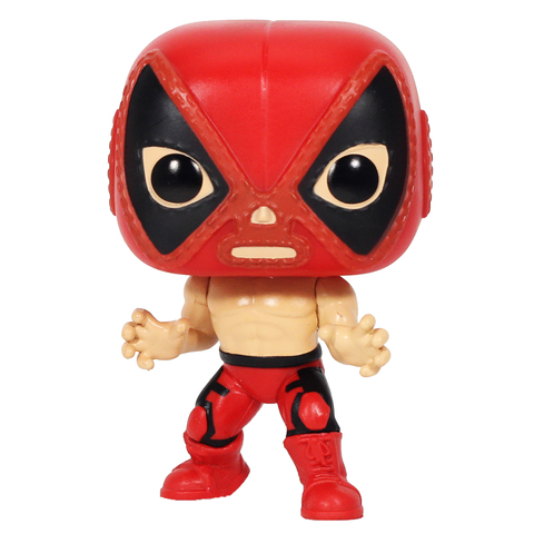 Фигурка Funko POP! Bobble: Marvel: Luchadores: Deadpool 53874