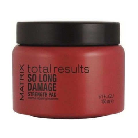Matrix Total Results So Long Damage: Маска для восстановления ослабленных волос (So Long Damage Strength Pak), 150мл