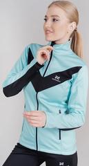 Теплая лыжная куртка Nordski Base 2021 Mint/Black женская