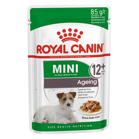ROYAL CANIN Консервы в соусе для пожилых собак мелких пород старше 12 лет MINI Ageing 12+