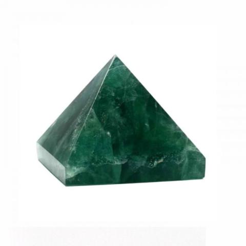 Пирамидка из зеленого агата