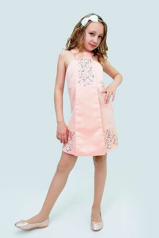 Платье детское + без дополнений (артикул 2Н109-2)