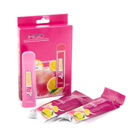 HQD (300 затяжек) Розовый Лимонад