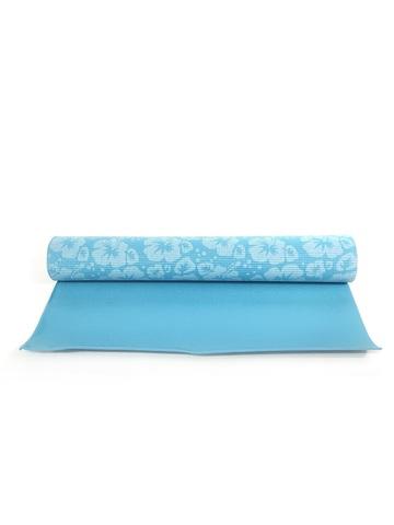 Коврик для йоги Flower  из ПВХ , 175*60*0,4 см