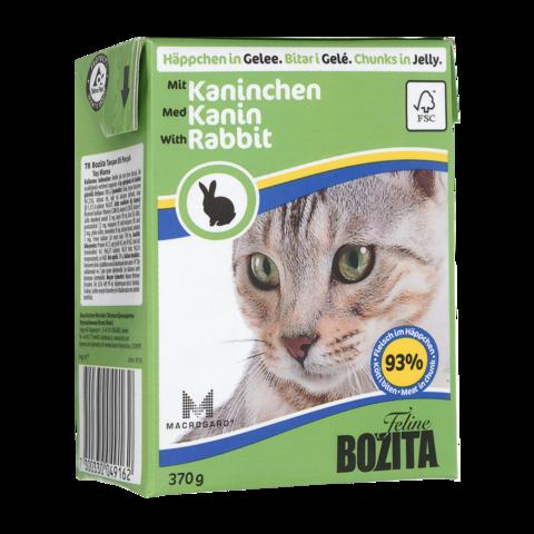 Bozita Консервы для кошек с кроликом (кусочки в соусе)