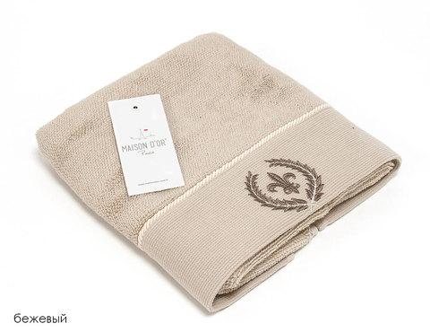 SEYMOUR - СЕЙМУР бежевый полотенце махровое Maison Dor(Турция) .