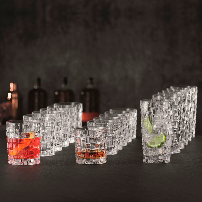 Подарочный набор стаканов 18 шт Bossa Nova, Nachtmann