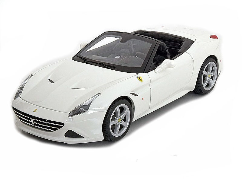 Коллекционная модель Ferrari New California T open 2014 White