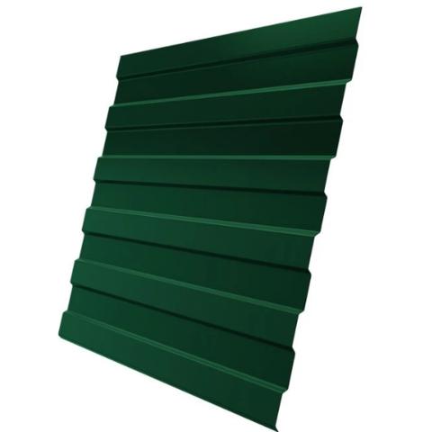 Профнастил НС10х1190 мм RAL 6005 Зеленый мох двухсторонний