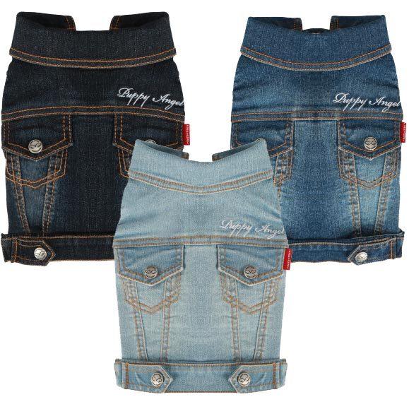 джинсовые жилетки для собак