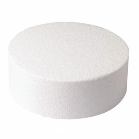 Фальш ярус для торта, круг 18см, высота 10см