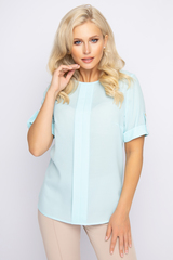 <p><span>Незаменимая вещь в Вашем гардеробе! Идеальная блузка свободного кроя - отличный офисный вариант.</span></p>