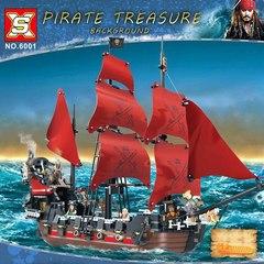 Пираты Карибского моря 6001 Месть Королевы Анны 1207 дет Конструктор