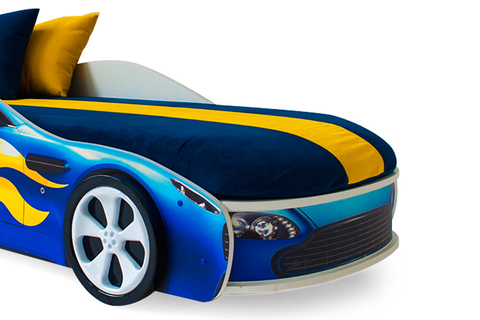 Чехол синий для матраса «Бондмобиль»