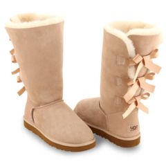 UGG Bailey Bow Tall Sand