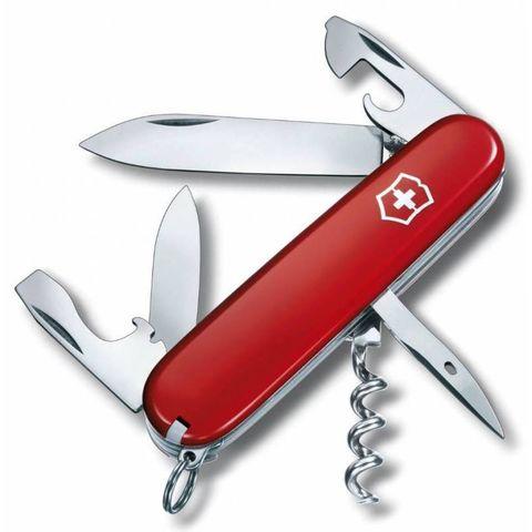 Нож перочинный Victorinox Spartan (1.3603) 91мм 12функций красный
