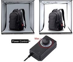 Фотобокс для предметной съемки 80 см со светодиодами