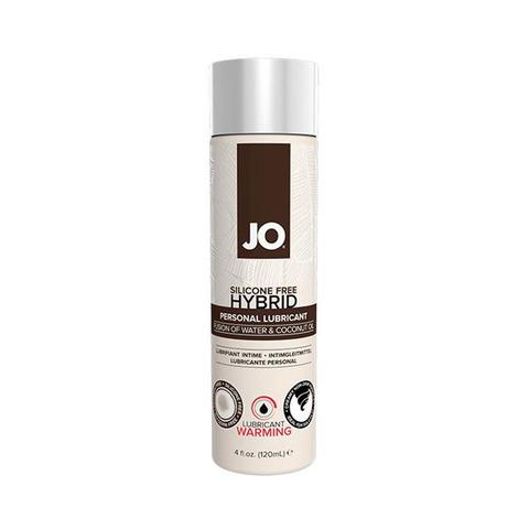 JO SILIKONE-FREE HYBRID LUBRICANT COCONUT WARMING, 120 ml Лубрикант-ГИБРИД водно-кокосовый с согревающим эффектом