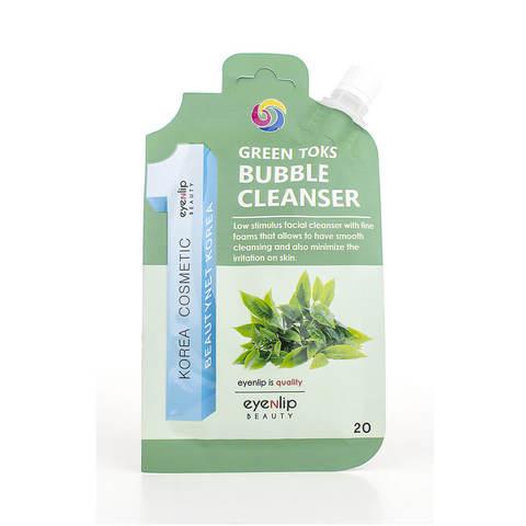 Eyenlip Пенка для умывания с зелёным чаем Green Toks Bubble Cleanser, 20 гр