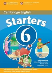C Young Learners Eng Tests 6 Starters SB *