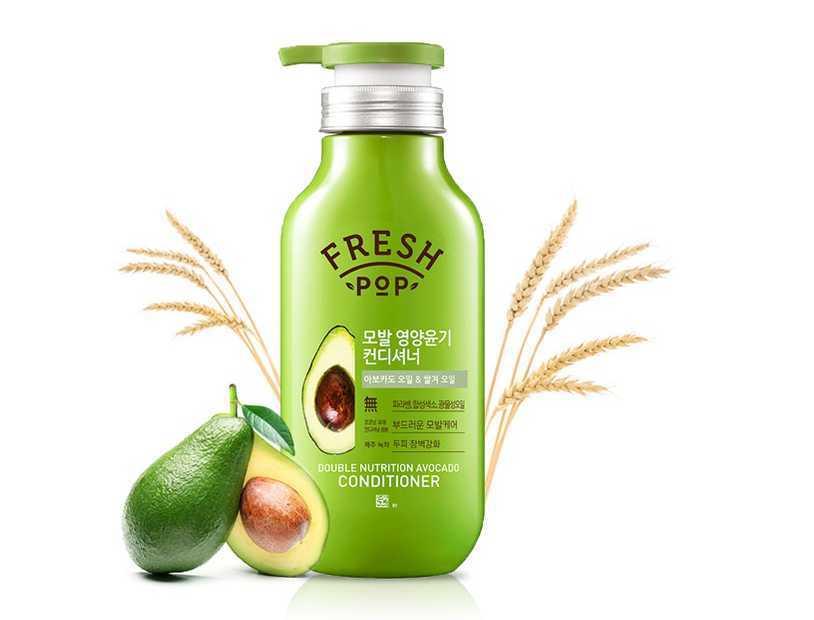 Питательный кондиционер «Авокадо» для всех типов волос | AmorePacific Fresh Pop Avocado Conditioner (500ml)