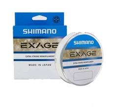 Леска SHIMANO Exage 150м прозрачная 0,185мм 2,9кг