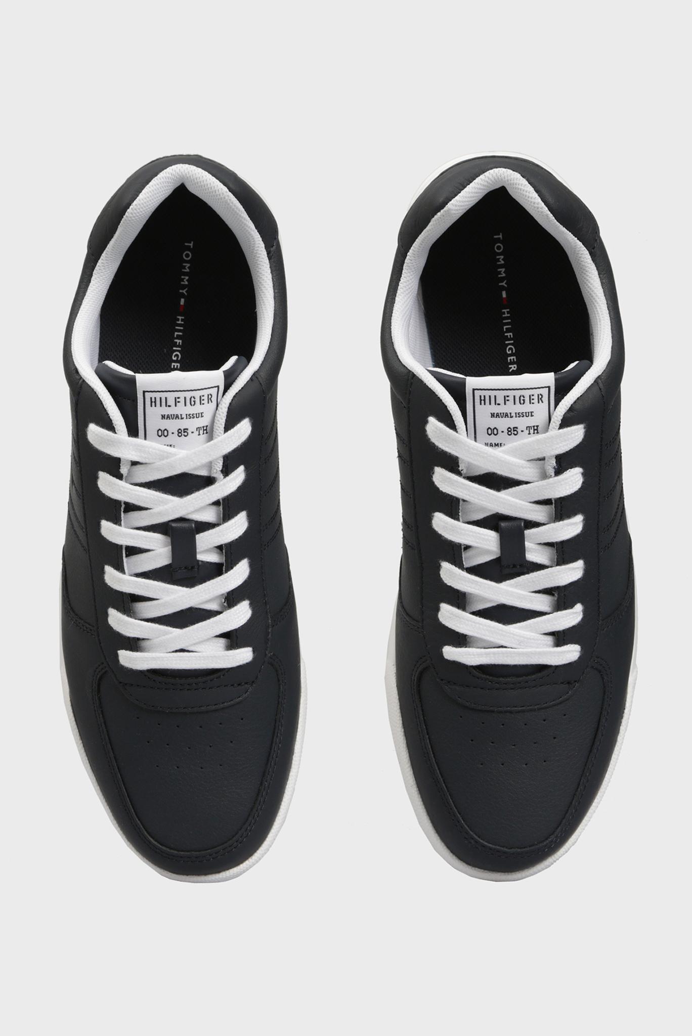 Мужские темно-синие кожаные кроссовки LIGHTWEIGHT Tommy Hilfiger