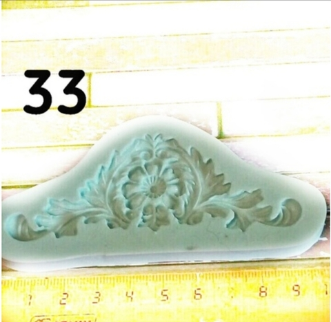 Молд Накладка  9.5см., Арт.PO-0033, силикон