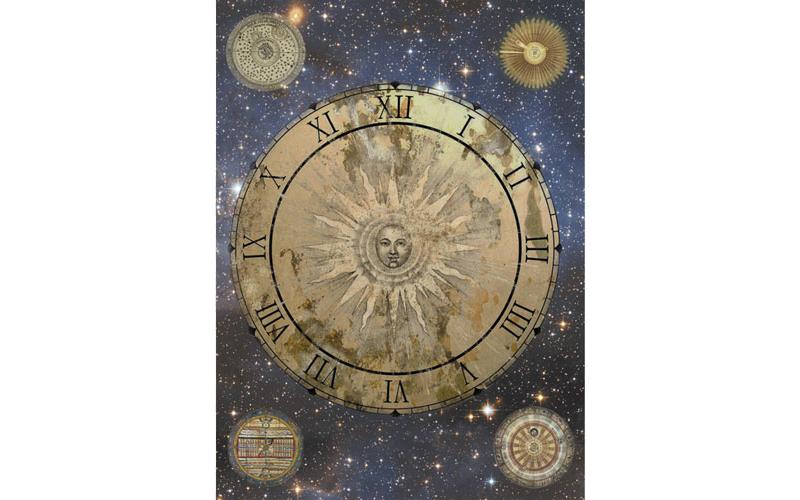 Рисовая бумага для декупажа Астрология, А3