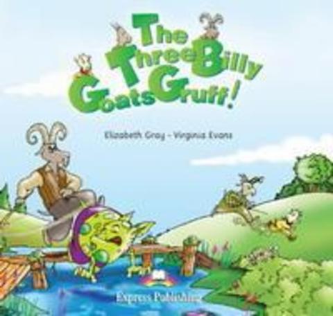 the three billy goats gruff - audio cd
