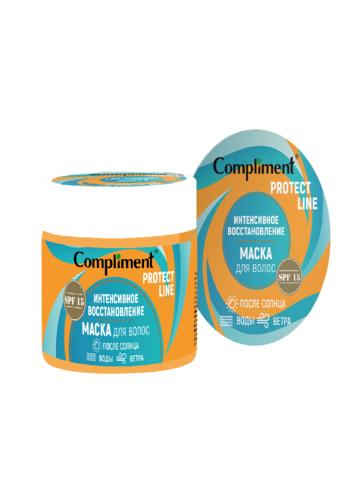 Сompliment Protect Line Маска для волос Интенсивное восстановление после солнца, воды, ветра