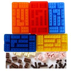 Форма силиконовая Лего для льда и шоколада