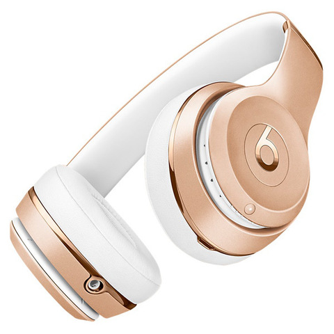 Наушники Bluetooth Beats Beats Solo3 Wireless On-Ear Gold/Золотые (MNER2ZE/A)