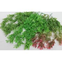 Ива свисающая трава искусственная, букет 5 веточек, 60 см.