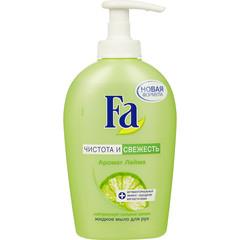 Мыло жидкое Fa Чистота и свежесть антибактериальное 250 мл