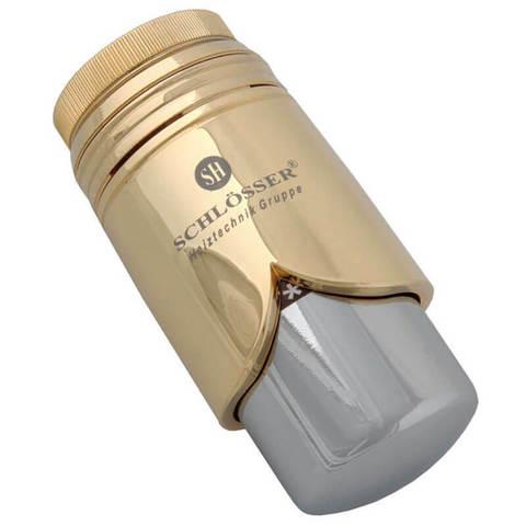 Головка термостатическая BRILLANT Золото-Хром M30x1,5 SH