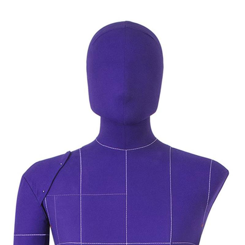 Голова 53 см  к манекену Моника Арт на магните, фиолетовая
