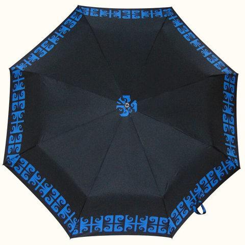 Купить женский чёрный зонтик полный автомат
