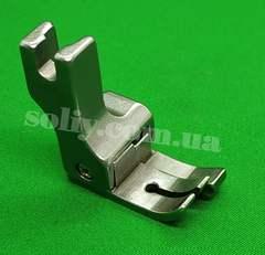 Фото: Лапка с ограничительным бортиком для отстрочки с подпружиненной правой половинкой CR50 (5.0мм)
