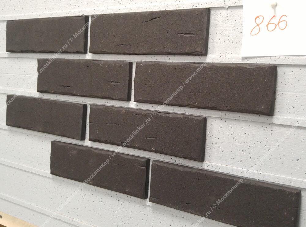 Roben - Aarhus, anthrazit, NF14, 240x14x71 - Клинкерная плитка для фасада и внутренней отделки