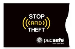 Чехол для банковских карт Pacsafe RFIDsleeve 25, черный - 2