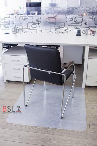 Защитный коврик под кресло 1000x1000 мм