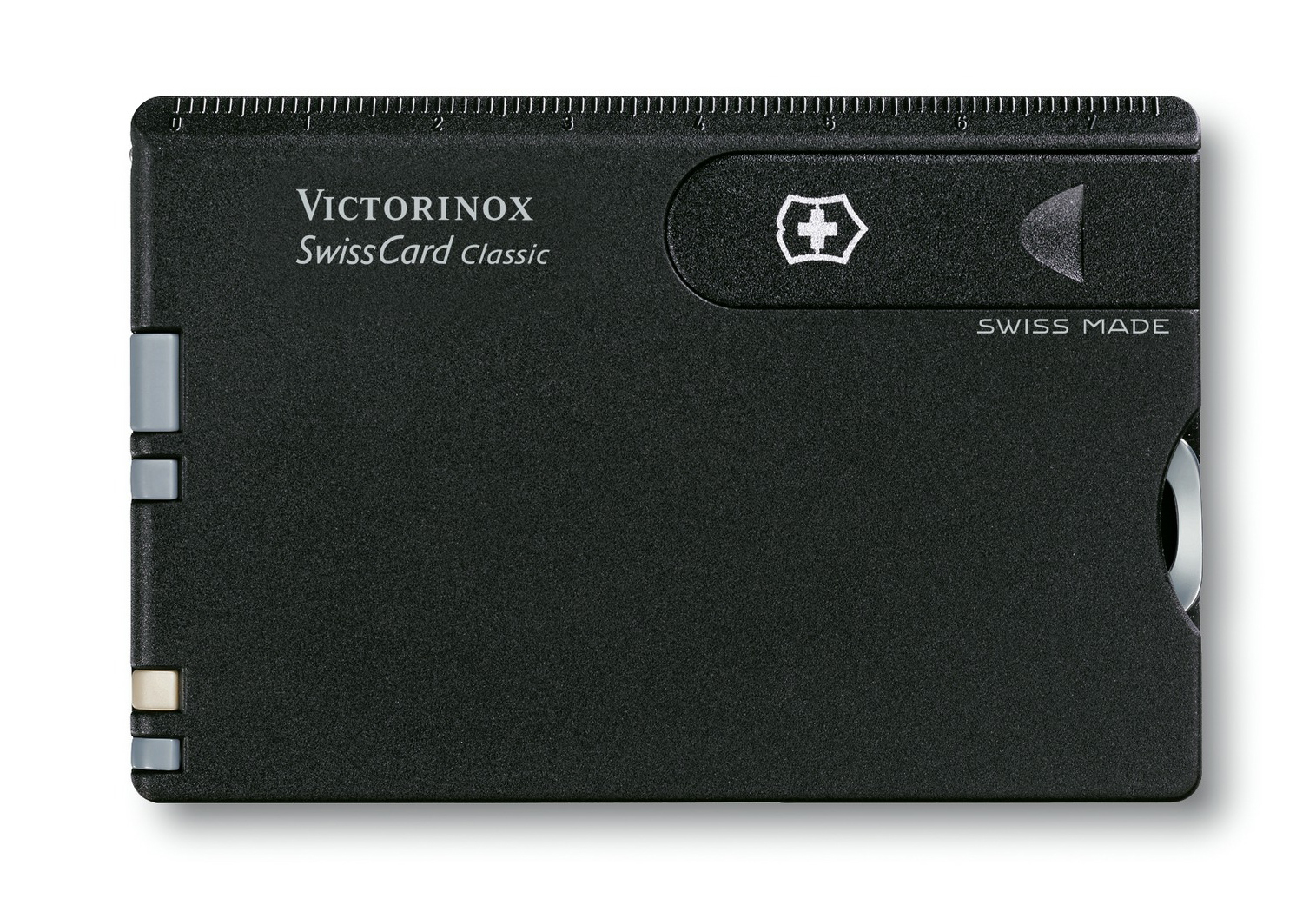 Швейцарская карта Victorinox SwissCard Classic Black (0.7133) - Wenger-Victorinox.Ru