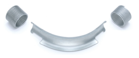 Фиксатор поворота Rehau Rautitan 20 мм. 90° отвод направляющий с кольцами (арт. 11388911002)