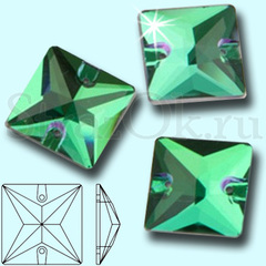 Закажите стразы в интернет-магазине Square Emerald зеленые
