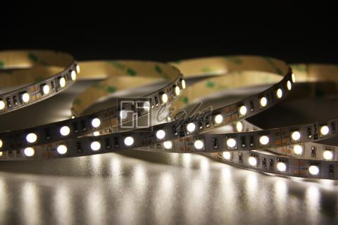 Светодиодная лента нейтральный белый 5050 60LED IP20 14.4W 12V 4500K