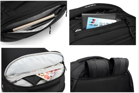 Картинка рюкзак для путешествий Ozuko BL9214x36  - 9