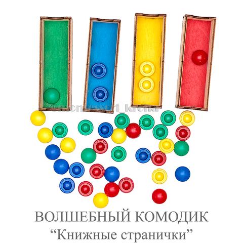 ВОЛШЕБНЫЙ КОМОДИК «Книжные странички»