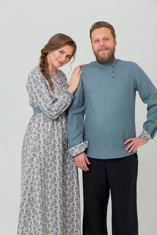 Комплект платье и рубаха Славное